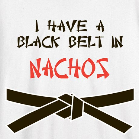 Personalized I Have A Black Belt In… Shirt