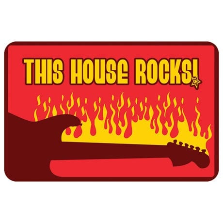 This House Rocks Doormat