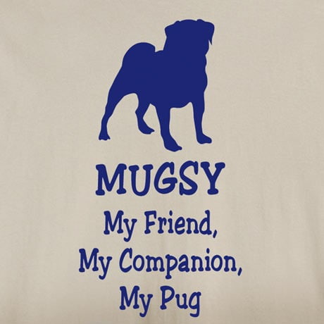 Personalized My Friend, My Companion Shirt - Pug