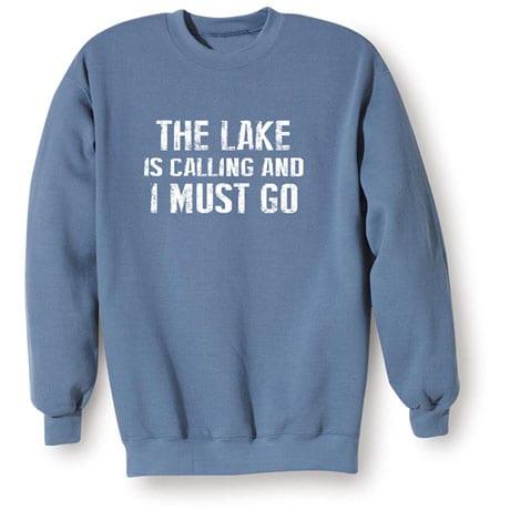 [Name] Is Calling I Must Go Sweatshirt Personalized
