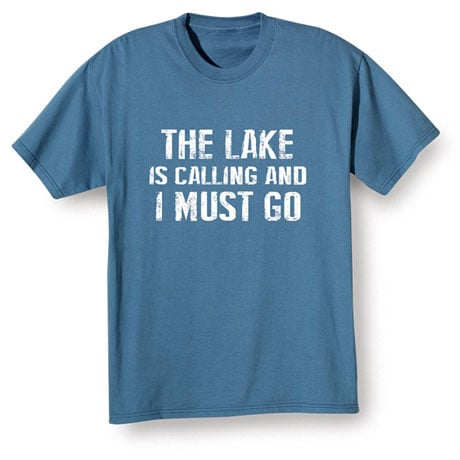 [Name] Is Calling I Must Go Short Sleeve T-Shirt Personalized