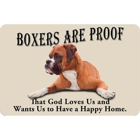 Dog Breed Doormat - Boxer