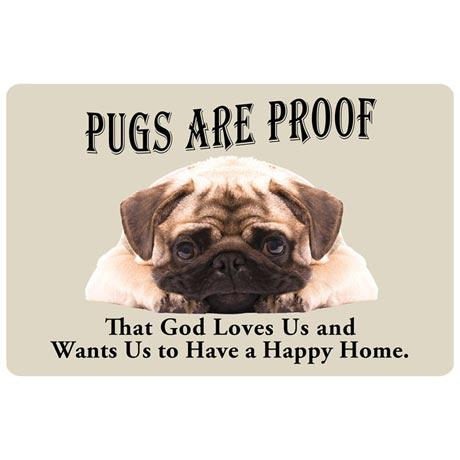 Dog Breed Doormat - Pug