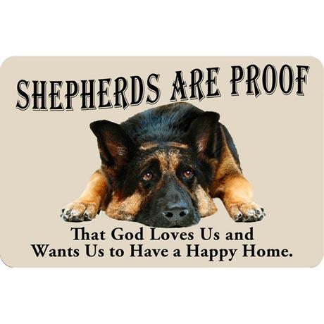 Dog Breed Doormat - German Shepherd
