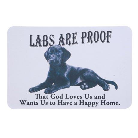 Dog Breed Doormat - Black Lab