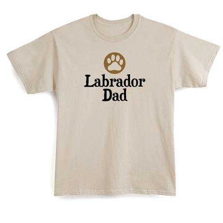 Personalized Pet Relation (Ex: Labrador Dad) Shirt