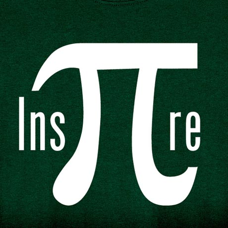 Inspire Pi Symbol Shirt At What On Earth Cl6281