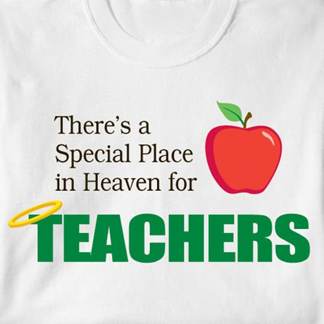 Special Place In Heaven Shirt - Teachers