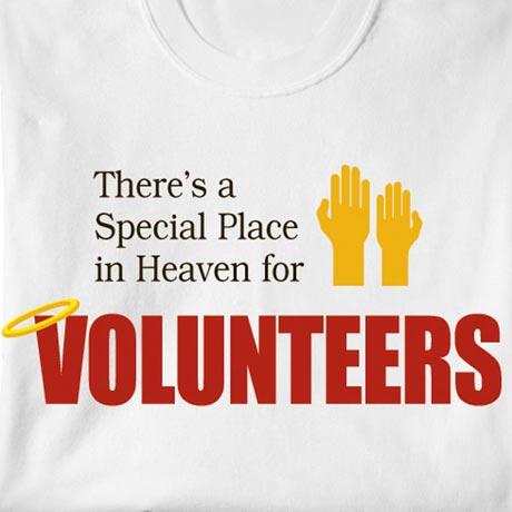 Special Place In Heaven Shirt - Volunteers