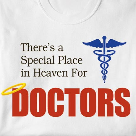 Special Place In Heaven Shirt - Doctors