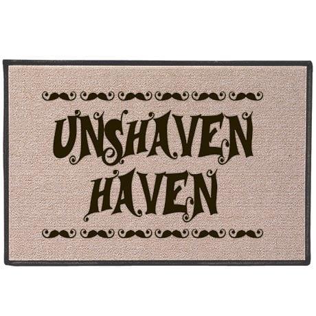 Unshaven Haven Doormat