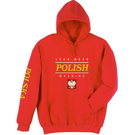 Lean Mean Polish Machine Hoodie Sweatshirt