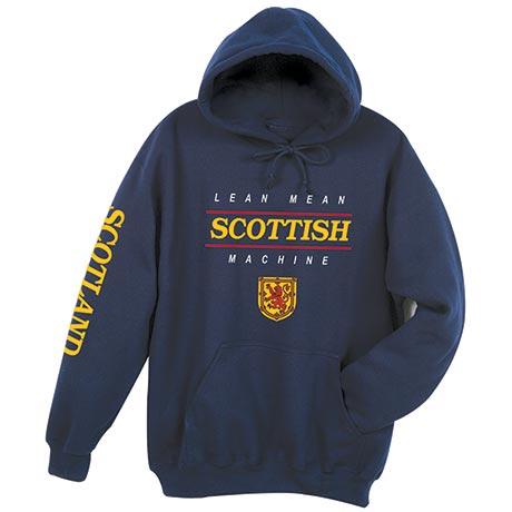 Lean Mean Scottish Machine Hoodie Sweatshirt - International