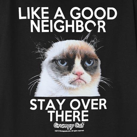 Grumpy Cat Good Neighbor T-Shirt