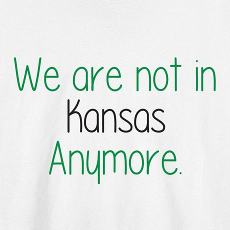 Personalized We Are Not In ? Anymore Shirts