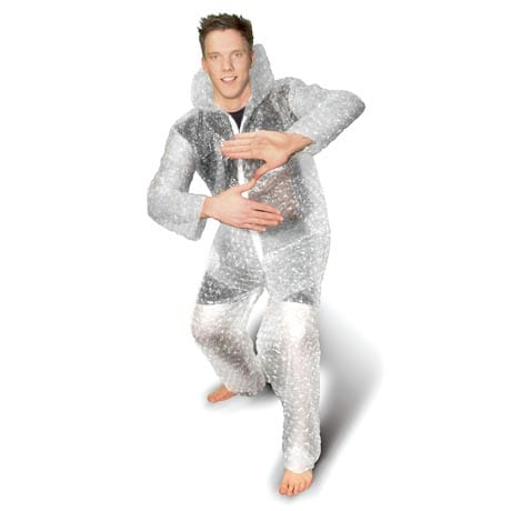 Bubble Wrap Suit Zoltan Costume from Dude Where's My Car?