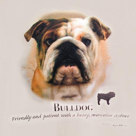 Dog Breed Shirts - Bulldog