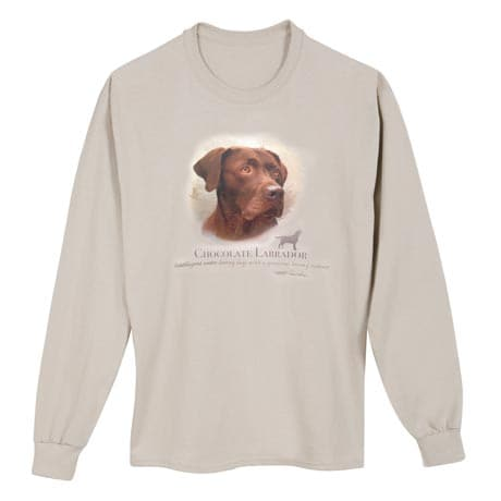 Dog Breed Shirts - Chocolate Lab