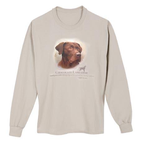 Dog Breed Shirts - Chocolate Lab