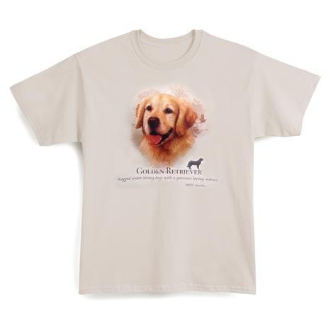 Dog Breed Shirts - Golden Retriever