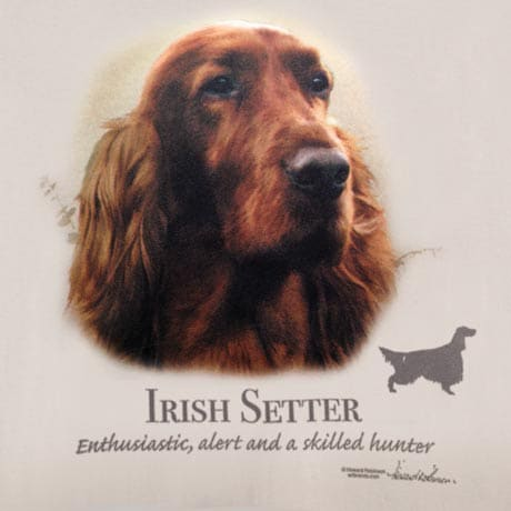 Dog Breed Shirts - Irish Setter