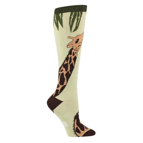 Wildlife Knee-Highs - Giraffe