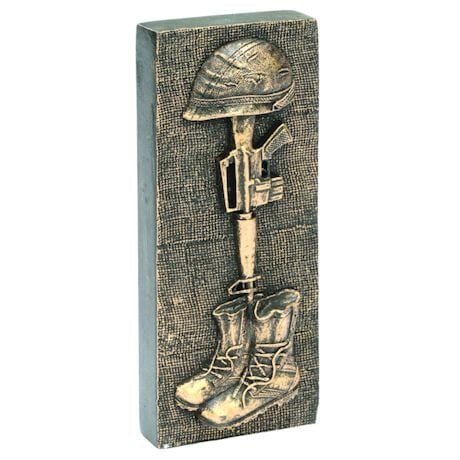 Solider Cross Figurine