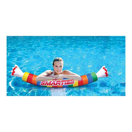 Giant Officially Licensed Pool Noodle - Smarties