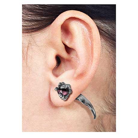 Dragon Orb Earring