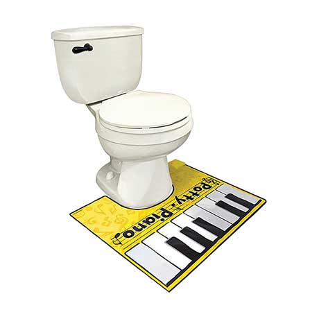 Potty Piano with Songbook Plays Music Toilet Keyboard Mat