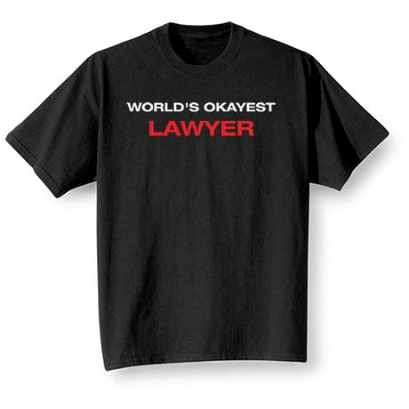 Personalized World's Okayest T-Shirt