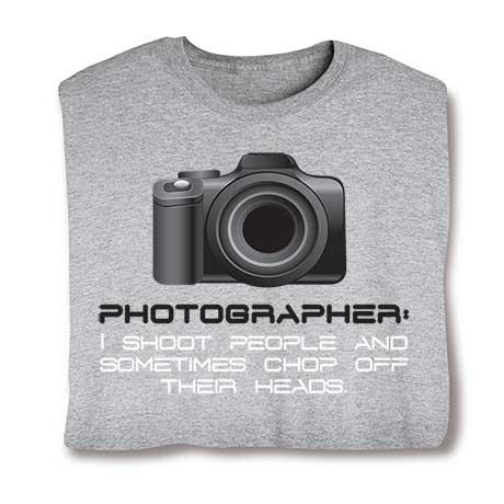 Photographer I Shoot People Sweatshirt