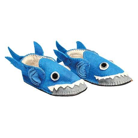 Handmade Animal Slippers- Shark
