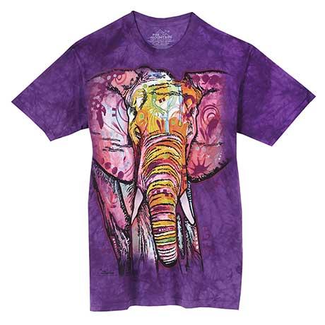 Colorful Animal T-Shirt- Elephant