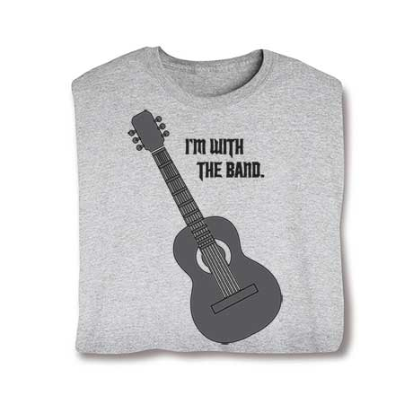 I'm With The Band Hooded Sweatshirt- Guitar