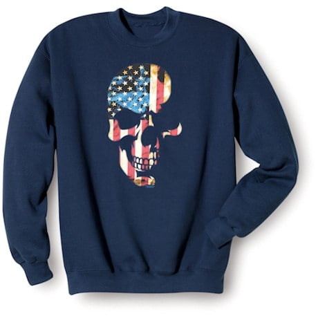 Americana Skull Sweatshirt