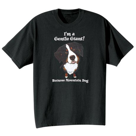 Dog Breed Tee- Bernese Mountain Dog