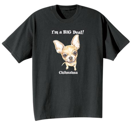 Dog Breed Tee- Chihuahua