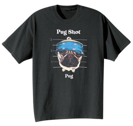 Dog Breed Tee- Pug