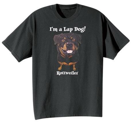 Dog Breed Tee- Rottweiler