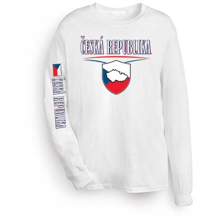 International Long Sleeve T-Shirt- Ceska Republika