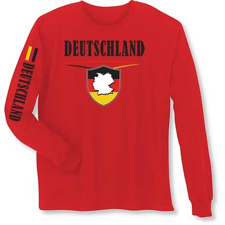 International Long Sleeve T-Shirt- Deutschland (Germany)