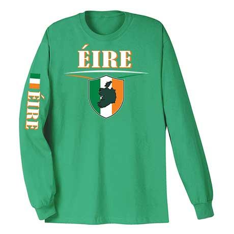 International Long Sleeve T-Shirt- Eire (Ireland)