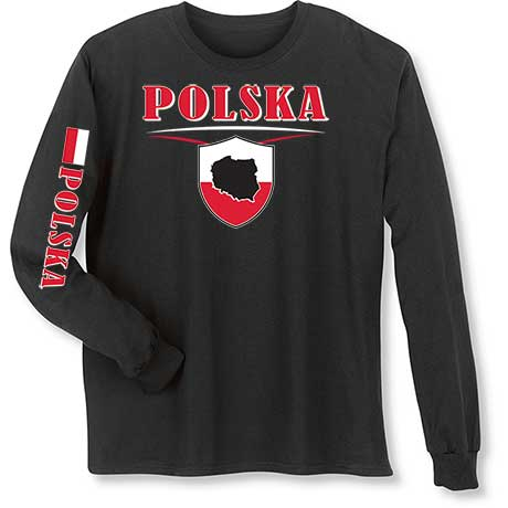 International Long Sleeve T-Shirt- Polska (Poland)