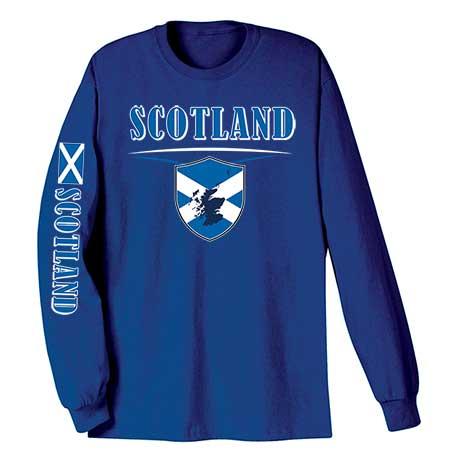 International Long Sleeve T-Shirt- Scotland