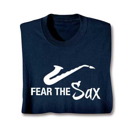Music Instruction T-Shirt- Sax