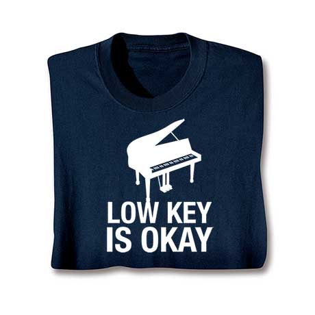 Music Instruction T-Shirt- Piano