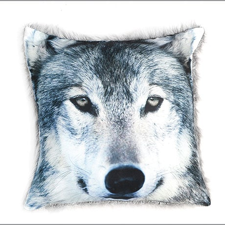 Call Of The Wild Wolf Pillow Cover Only