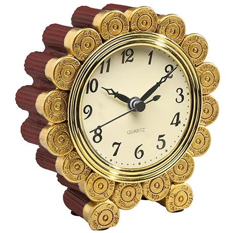 Shotgun Shell Desktop Clock