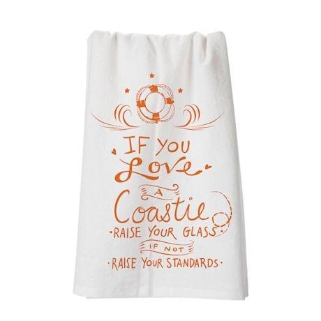 Military Flour Sack Kitchen Towel- Coastle (Coast Guard)